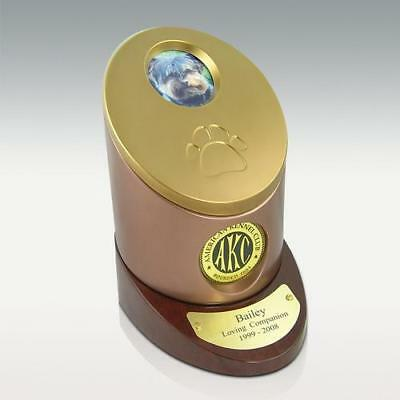 American Kennel Club AKC Official Pet/Dog Funeral Cremation Urn, New, 109 Inches