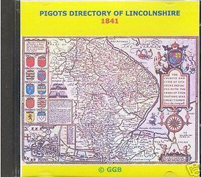 Genealogy Directory Of Lincolnshire 1841 Cd Rom