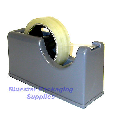 Heavy Dual Core Sellotape 25mm Tape Desktop Dispenser