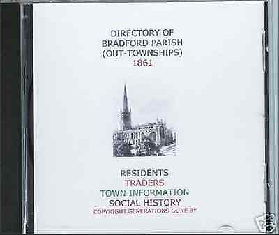 Genealogy Directory Of Bradford (Out-Townships) 1861 Cd
