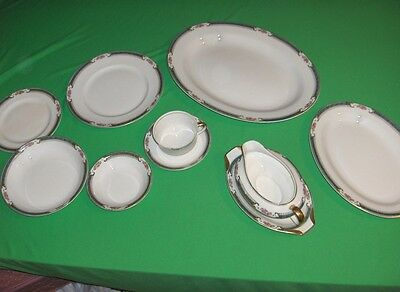 10 Pc Vintage Knowles Taylor Knowles K T & K China
