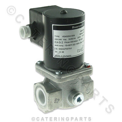 "22mm BSP 3/4"" GAS KITCHEN INTERLOCK SOLENOID VALVE HONEYWELL VE4020 VE4020A1005"