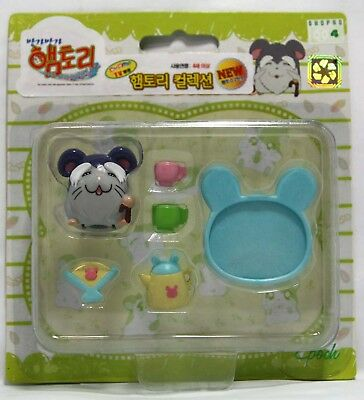 "Hamtaro Hamster Figure & Accessories Set - ""Elder Ham (Chorou Hamu)"""