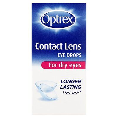 Optrex Contact Lens Eye Drops For Dry Eyes - 10Ml  *