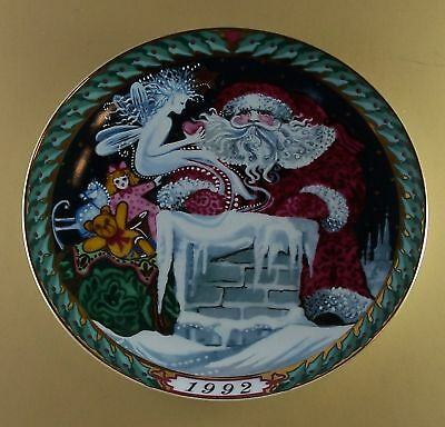 SANTA CLAUS COLLECTION Plate 1992 B & G Christmas