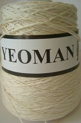 Yeoman Yarn 400g Cone Aran Knit Cotton Hand or Knitting Machine - Y217.01