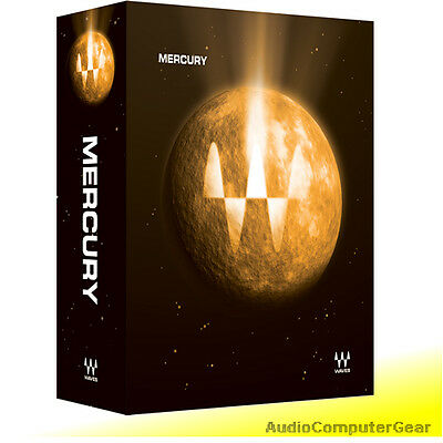 Waves MERCURY Bundle Audio Software Plug-in Collection NEW