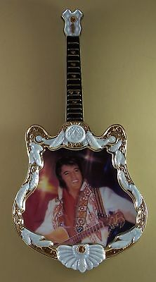 Elvis Presley GUITAR PLATE 1975 THE SPIRIT 4th Fourth Issue + COA Rock & Roll