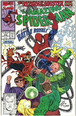 the Amazing Spider-Man Comic Book #338, 1990 NEAR MINT