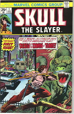 Skull the Slayer Comic Book #1, Marvel 1975 FINE