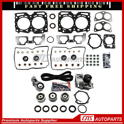 Fits SUBARU SAAB IMPREZA LEGACY 2.5L SOHC W/ UPGRADED MLS HEAD GASKET SET EJ25