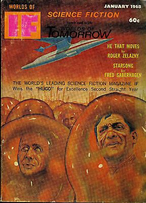 Worlds of If Magazine, Worlds of Science Fiction - January 1968
