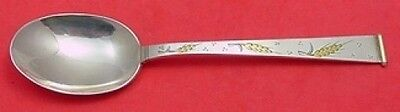 """GOLDEN WHEAT BY GORHAM STERLING SILVER PLACE SOUP SPOON 7"""""""