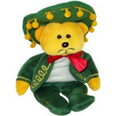 "Skansen  Beanie Kid ""amigo"" The Mexican Bear Mwmt"