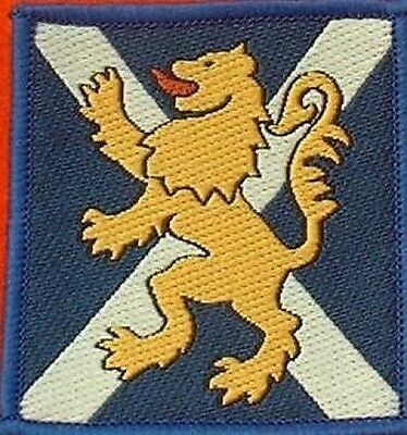 Royal Regiment of Scotland TRF RRS Combat Badge Hook & Loop Backed