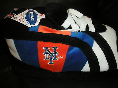 Happy Feet Slippers New York Mets Multiple Sizes