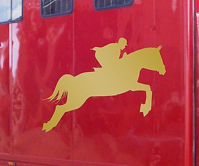 Sca Art 1 Horse Vinyl Sticker Decal Horsebox Trailer