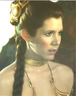 Star Wars Princess Leia 8 x 10 Glossy Postcard #3, NEW