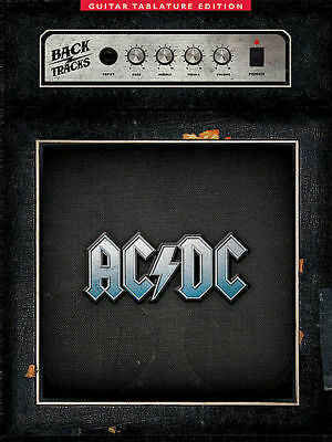 AC/DC - Backtracks Guitar TAB Book *NEW* ACDC, Sheet Music, Tablature, Song