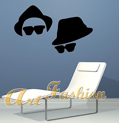Wall Stickers Sticker Adesivo Blues Brothers  Ws0277