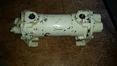 "YOUNG 214110 HEAT EXCHANGER small dents,scratches 5""X14.5"" ONAN P/N 130-0624 NOS"