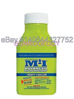 M-1 Advanced Mildewcide Liquid Paint Additive (78902S - 1.38 fl oz) - NEW