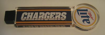 Miller Lite CHARGERS tap handle