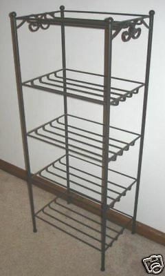 Longaberger Wrought Iron STAND ~  5-Level BASKET RACK