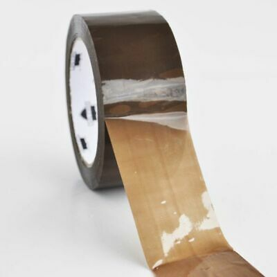 """36 Rolls Brown Tan Packaging Packing Tape Shipping 2"""" 2.3 Mil 110 yd 330'"""