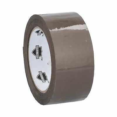 """72 Rolls Brown Tan Packaging Packing Tape Shipping 2"""" 2.3 Mil 110 yd 330'"""