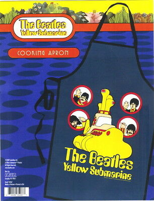 The Beatles Yellow Submarine Blue Cloth Cooking Apron