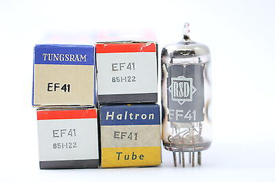 Ef41 Tube. Mixed Brand. Nos/nib. Rc108.