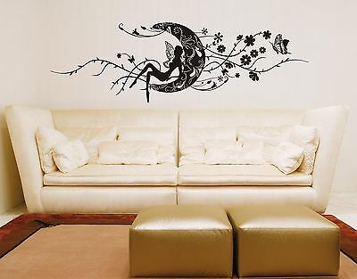 Wall Stickers Sticker Adesivi Murali Adesivo Muro Fata Decal Fantasy Art Ws0356