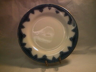 "J & G Meakin Ipswich 9"" Luncheon Plate - Flow Blue - Reduced Price!"
