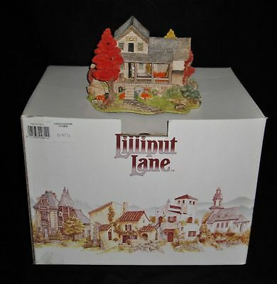 Lilliput Lane  HARVEST MILL  w/Box & Deed, LE 3500 Signed Ray Day