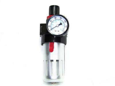 Air Compressor Water Filter With Regulator Water Trap Air Control Cleaning Tool