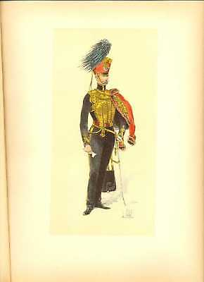 GB Hussar Officer (1832) Lithography Louis Vallet 1891