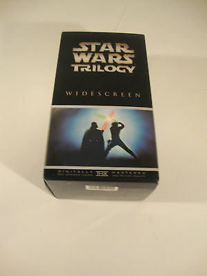 NEW Star Wars Trilogy VHS Movie Film Action Sci-Fi Three Movies In Original Box