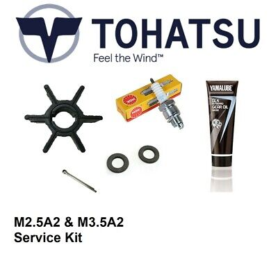 Tohatsu M2.5A2 & M3.5A2 (2.5hp/3.5hp) 2-Stroke Outboard Service Kit