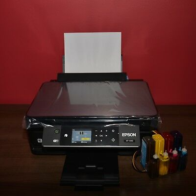 Sublimation Epson Expression XP-440 printer + Sublimation CISS for heat press