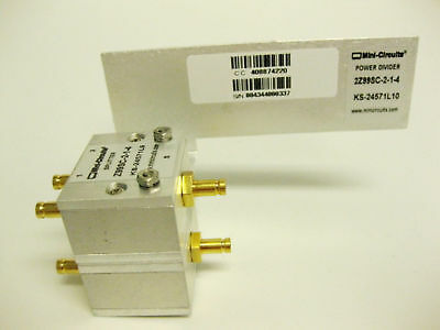 Mini Circuits 2Z99SC-2-1-4 POWER SPLITTER CMBD/DIN  NEW