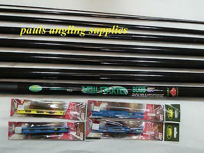 8m Starter Fishing Pole & 4 Ready Made Rigs