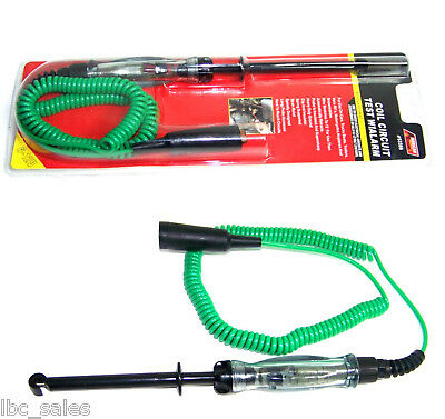 Circuit Tester With Alarm Test Coil Fuses Battery H-D 6 and 12 volts