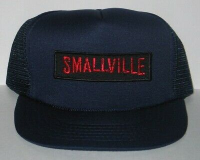 Smallville Name Logo Patch Baseball Hat /Cap New