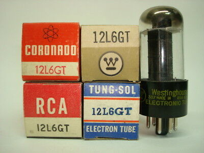12L6Gt Tube. Mixed Brands. Nos / Nib. Rcb1