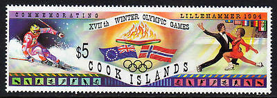 Cook Is.1994 Winter Olympics Set Sg 1336 Mnh.