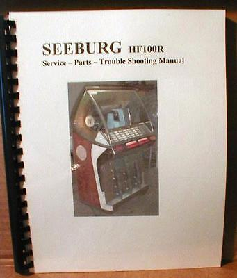 Seeburg HF100R -  J - JL - Jukebox Manual