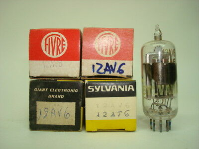 12Av6 Tube. Hbc91 Tube. Mixed Brands. Nos / Nib. Rcb152