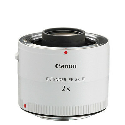 NEW Canon Extender EF 2x III Lens For EOS 1 Yr Warranty