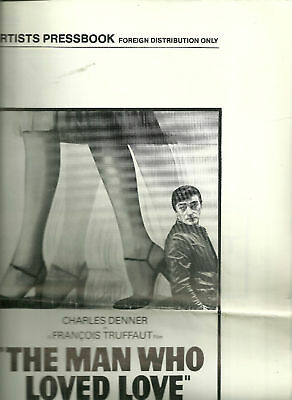 United Artists Pressbook THE MAN WHO LOVED LOVE